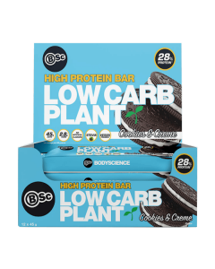 BSC High Protein Low Carb Plant Bar Box of 12