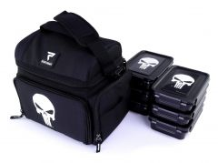 PERFORMA™ MATRIX All-In-One 6 Meal Prep Cooler Bags, Punisher