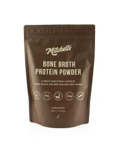 Mitchells Bone Broth Protein Powder 500g - Chocolate