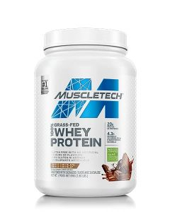 MuscleTech Grass Fed 100% Whey Protein 1.8lb