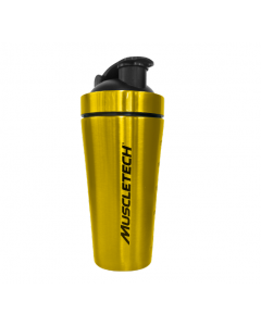 Muscletech Stainless Steel Gold Shaker