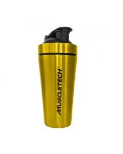 Muscletech Stainless Steel Gold Shaker