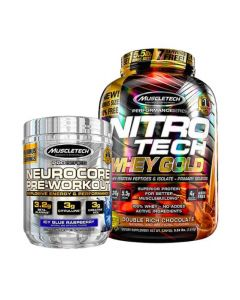 Muscletech Whey Gold 5.5lb + Neurocore Bundle