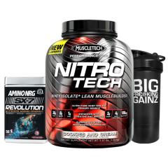 Nitro-Tech 4lb + Amino Revolution Sale Stack
