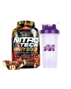 MuscleTech Nitro-tech Whey Gold 5.5 lb - Choc Banana