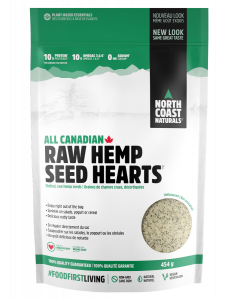 North Coast Naturals Hemp Seed Hearts 454g
