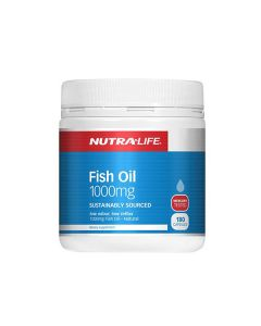Nutra-Life Fish Oil 1000MG 180 Cap