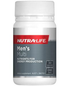 Nutra-Life Mens Multi 30 Cap