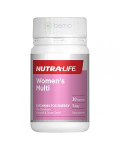 Nutra-life Womens Multi 30 Cap