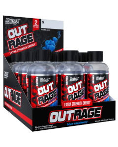 Nutrex Outrage 12 Pack Energy Shot