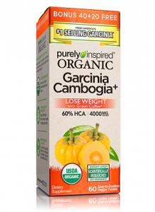 Purely Inspired Organic Garcina Camogia+ 04/21 Dated