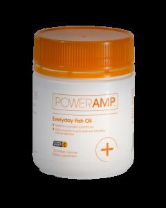 PowerAmp Everyday Fish Oil 120 Softgel Capsules