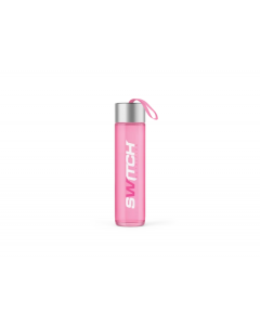 Switch Nutrition Pink Frosted Drink Bottle