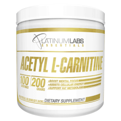 Platinum Labs Acetyl-l-carnitine 100 serve