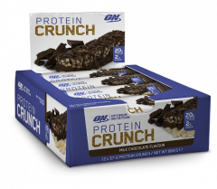 Optimum Nutrition Protein Crunch Bar x12