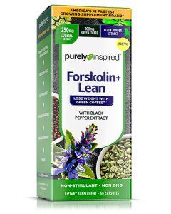 Purely Inspired Forskolin + Lean, 60 Caps