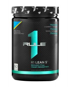Rule 1 Lean 5 - Stimulant-Free Fat Burner 60 Serve