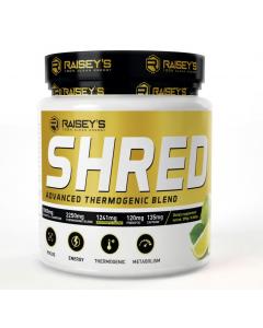 Raiseys Shred Advanced Thermogenic Blend 60 Serve