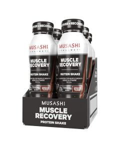 Musashi Muscle Recovery RTD 6 Pack