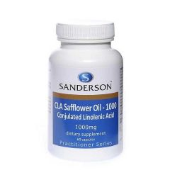 Sanderson CLA Safflower (Linoleic Acid) 1000mg 60cap