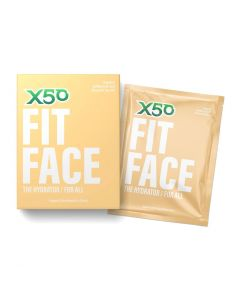 X50 Fit Face The Hydrator Mask - 5 Pack