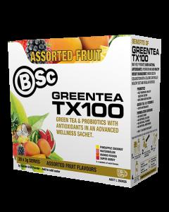 Bsc Green Tea Tx100 Probiotic Fat Burner 20 serve