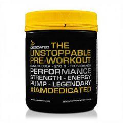 Dedicated Nutrition Unstoppable V2 Pre-Workout 50 Serve