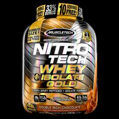MuscleTech Nitro-Tech Whey+Isolate Gold 4lb