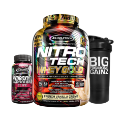 Whey Gold 5.5lb + Hydroxycut Elite 110cap Combo Deal
