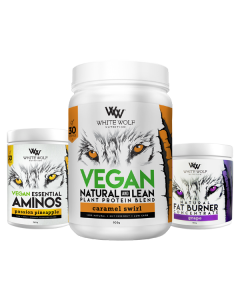 White Wolf Natural Vegan Fat Burning Combo