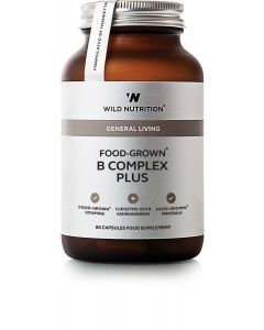 Wild Nutrition Food Grown B Complex Plus 60 Cap