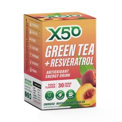 Green Tea x50 + Revesatrol 30 Serve