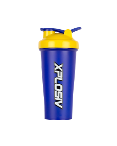 Xplosiv Shaker 600ml - Blue & Yellow