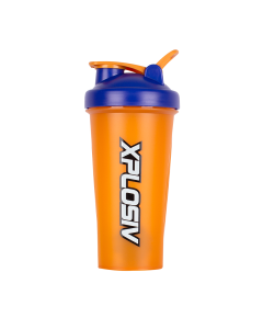 Xplosiv Shaker 600ml - Dark Blue & Orange