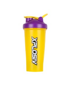 Xplosiv Shaker 600ml - Purple & Yellow