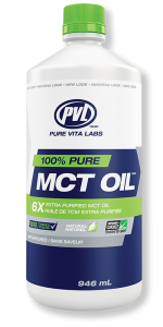 PVL 6x Extra Purified 100% Pure MCT Oil 946mL