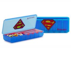 Licensed Weekly Superman Pill Container/48 CS