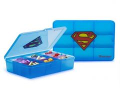 Licensed Chest Superman Pill Container/48 CS