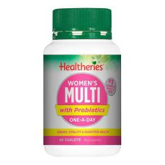Healtheries Womens Multis+Probiotic 60 Tab