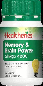 Healtheries Memory & Brain Power 30 Tab