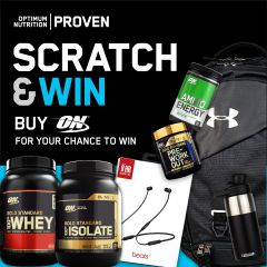 Optimum Nutrition Scratch Card
