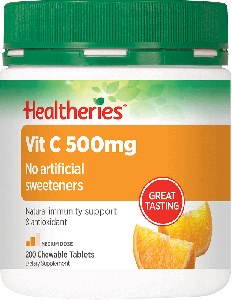 Healtheries Vitamin C 500MG 200 Tablets