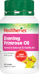 Healtheries Evening Primrose Oil 1000mg 60 Cap
