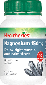 Healtheries Magnesium 120 Cap