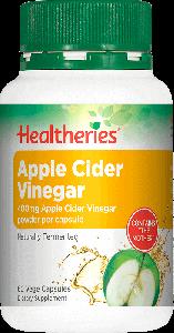 Healtheries Apple Cider Vinegar 60 Cap