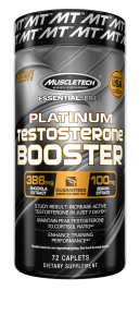 MuscleTech Essential Series Platinum Testosterone Booster
