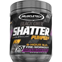 Muscletech SX-7 Black Onyx Shatter Pumped8 Non Stimulant