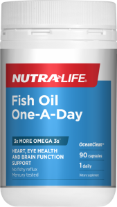 Nutra-Life Fish Oil One A Day 90 Cap