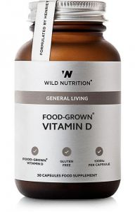 Wild Nutrition Food Grown Vitamin D 30 Cap