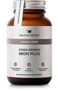 Wild Nutrition Food Grown Iron Plus 30 Cap